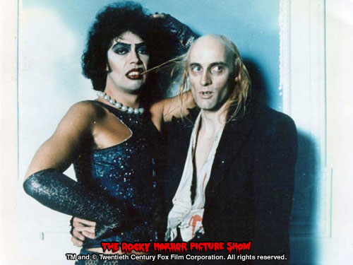 RHPS Photo: Tim Curry and Richard O'Brien