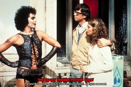 RHPS Photo: Tim Curry, Susan Sarandon and Barry Bostwick