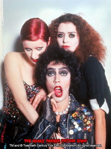 RHPS Photo: Tim Curry, Little Nell and Patricia Quinn
