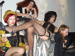 The Sweet Transvestites: throne scene