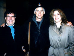 Betty Thomas with Sal Piro and Barry Bostwick