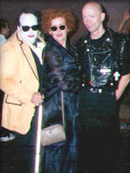 Bill Brennan with Patricia Quinn and Richard O'Brien