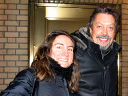 Melissa and Tim Curry