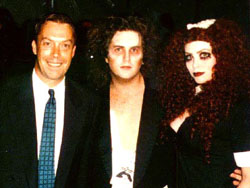 Jeff and Shelley with Tim Curry at the 15th