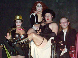 Ray as Frank-N-Furter
